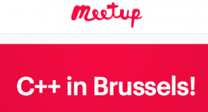 meetup C++ in Brussels