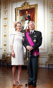 King Philippe and Queen Mathilde - source: http://www.monarchie.be