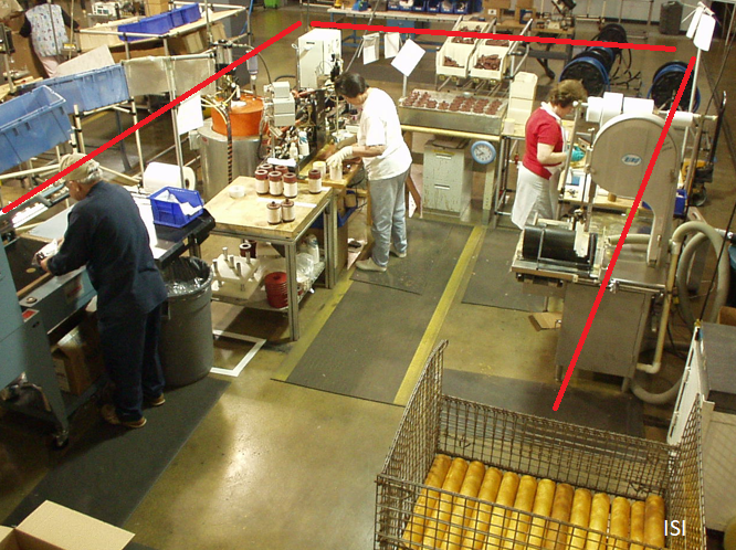 Cell Manufacturing layout photo